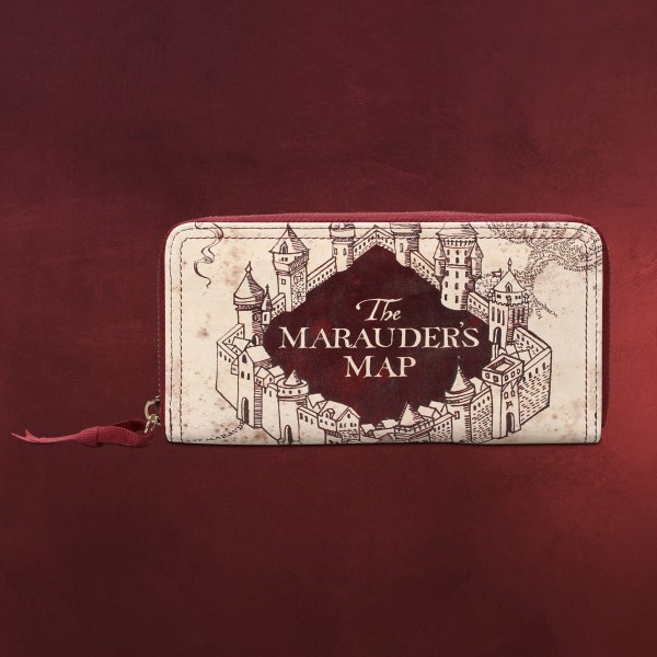 Harry Potter - Karte des Rumtreibers Geldbörse