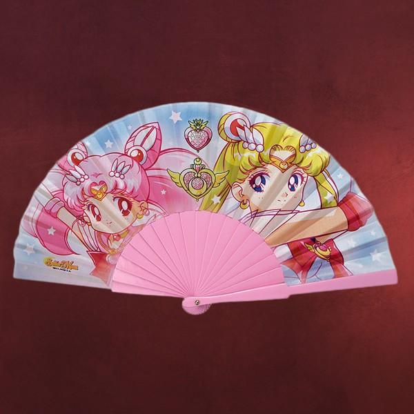 Sailor Moon & Sailor Chibi Moon Fächer