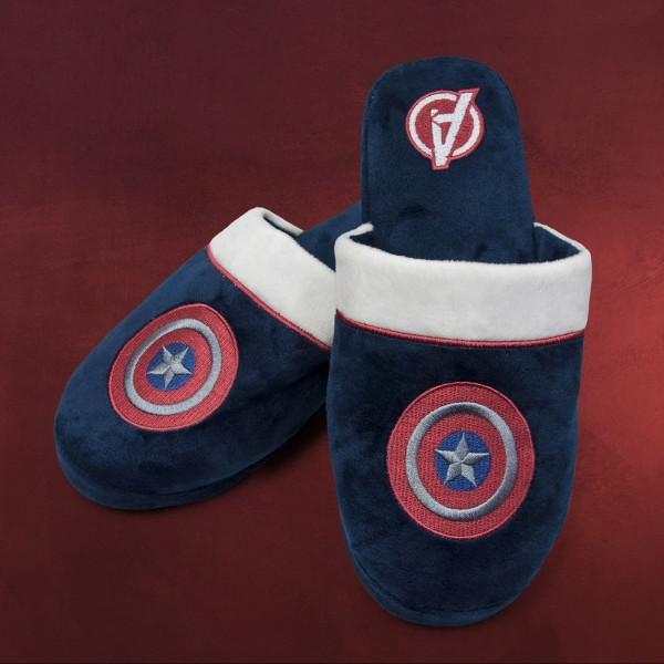 Captain America Plüsch Pantoffeln