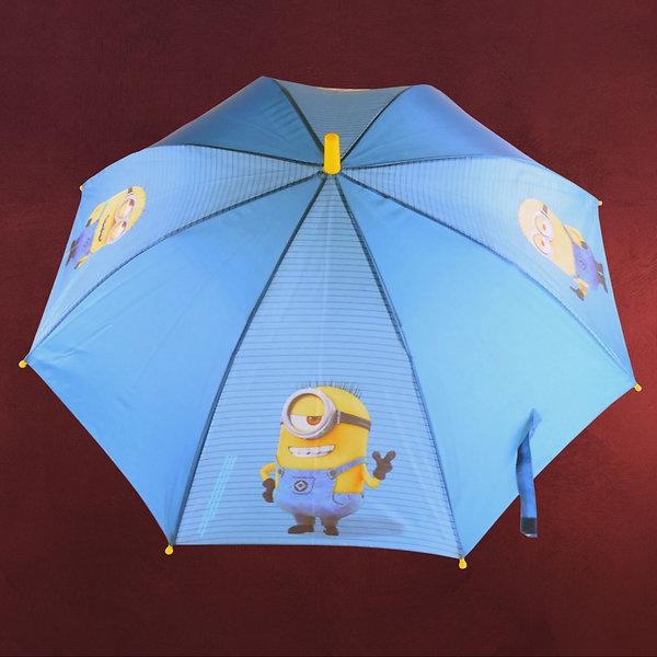 Minions - Schirm für Kinder blau
