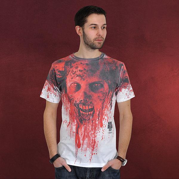 Walking Dead - Bloody Walkers T-Shirt weiß