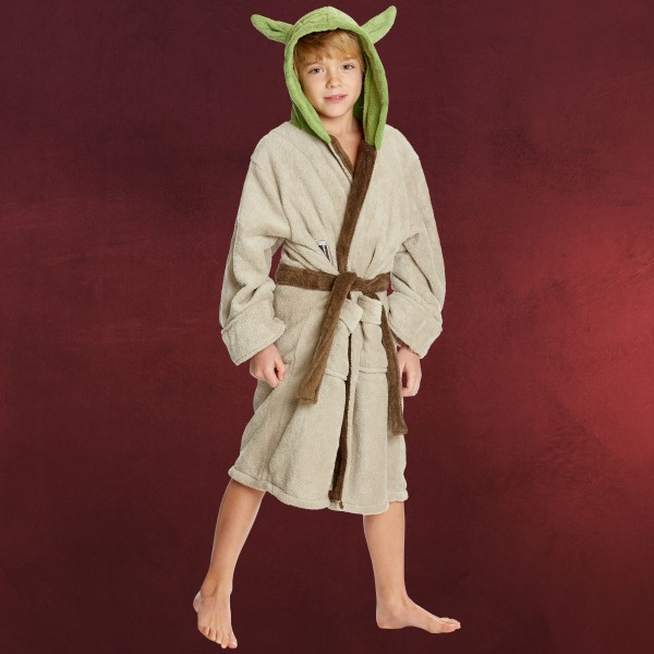 Star Wars - Yoda Kinder Bademantel