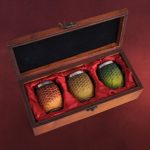 Game of Thrones - Dracheneier Becher Set deluxe