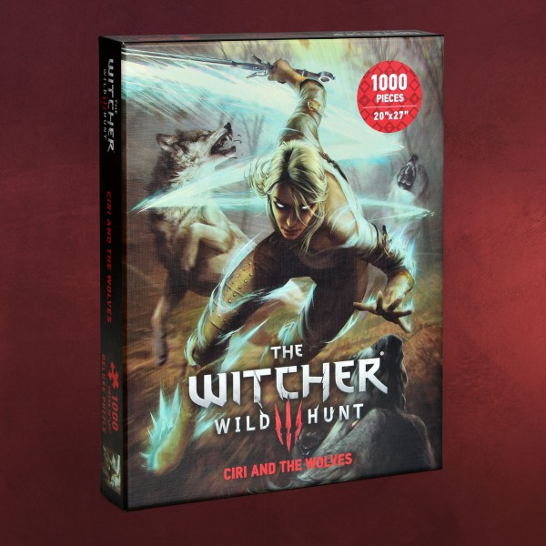 Witcher - Ciri vs. The Wolves Puzzle