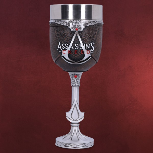 Assassin's Creed - Logo Kelch deluxe braun