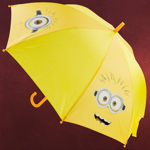Minions - Faces Schirm für Kinder gelb