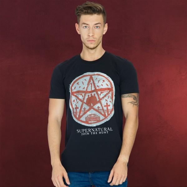 Supernatural - Join the Hunt T-Shirt schwarz