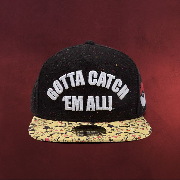 Pokemon - Gotta Catch Em All Snapback Cap