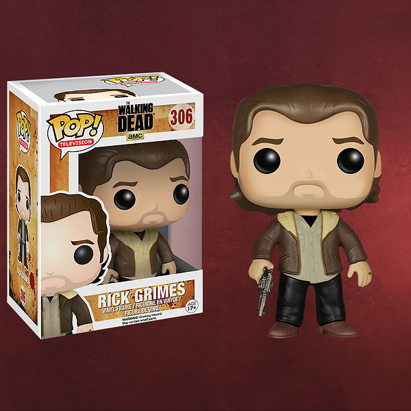 Walking Dead - Rick Grimes Mini-Figur Season 5