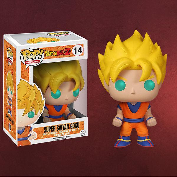 Dragon Ball Z - Super Saiyan Goku Mini-Figur