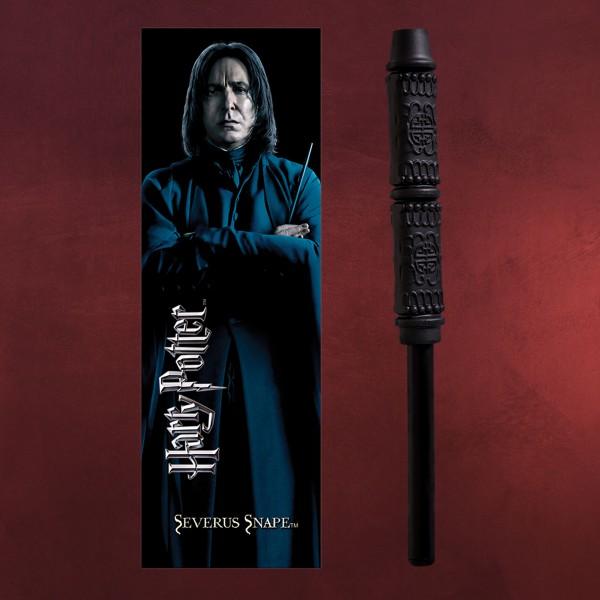 Severus Snape Zauberstabstift & Lesezeichen - Harry Potter