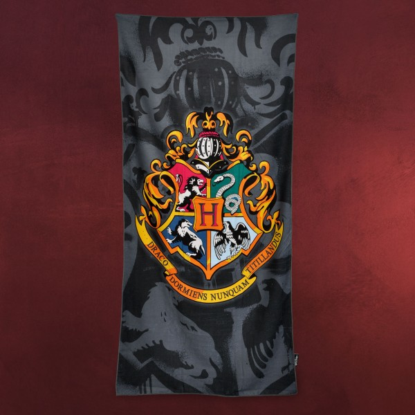 Harry Potter - Hogwarts Wappen Strandtuch