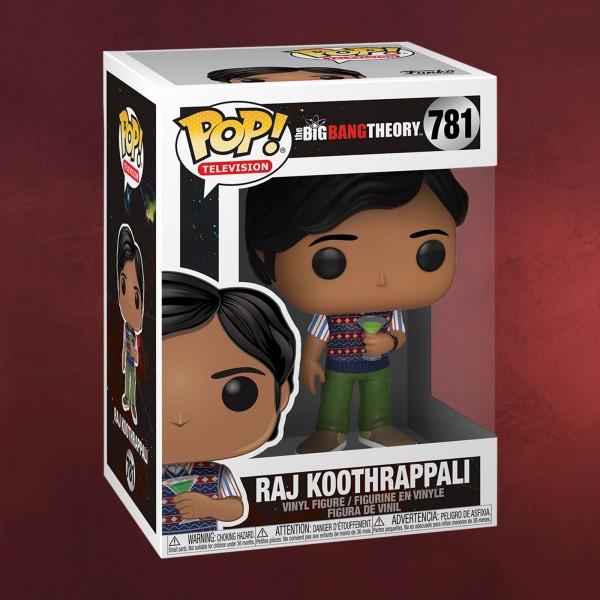 Big Bang Theory - Raj Koothrappali Funko Pop Figur