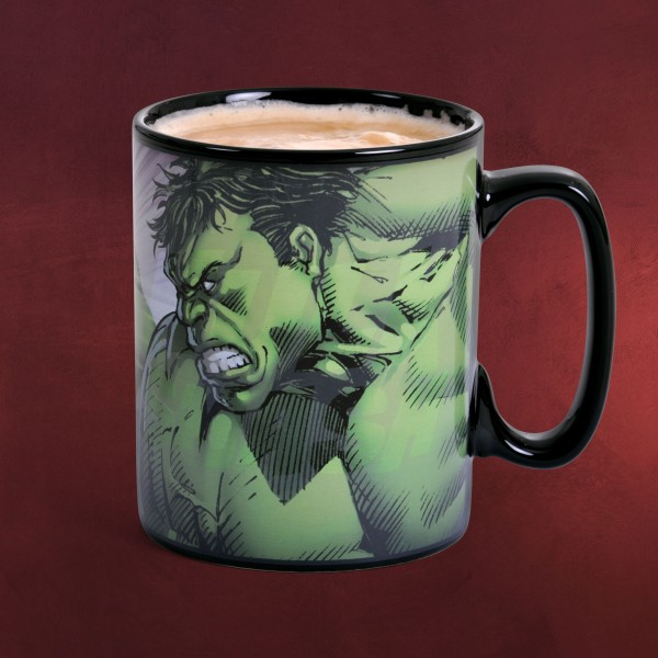 Hulk - Smash Thermoeffekt Tasse