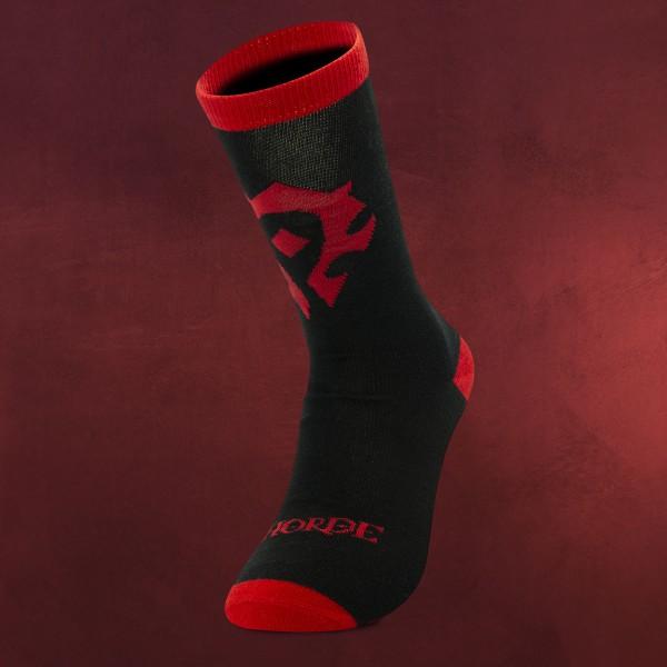 World of Warcraft - Horde Logo Socken