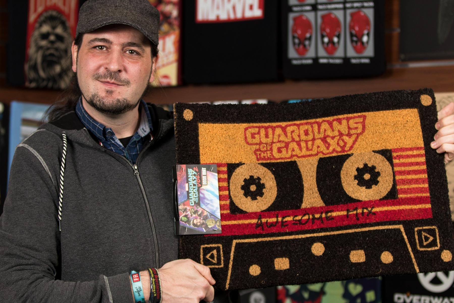 Alex Geschenketipp: Guardians of the Galaxy - Awesome Mix Fußmatte