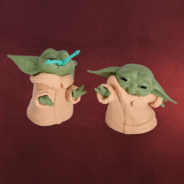 The Child mit Frosch und Macht-Pose Mini-Figuren-Set - Star Wars The Mandalorian