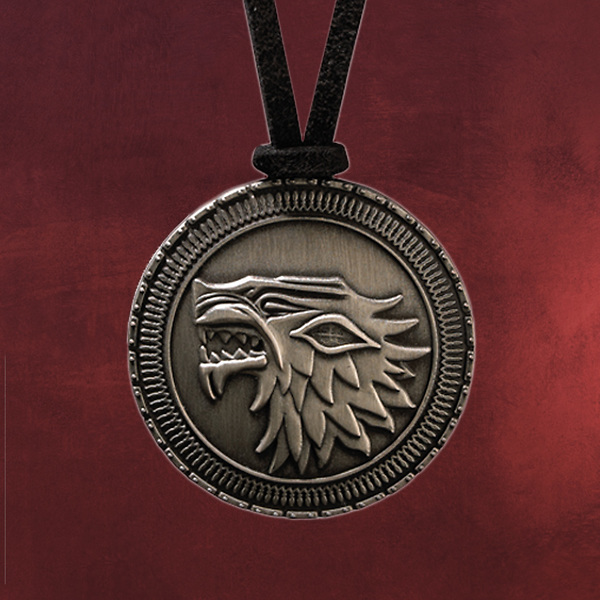 Game of Thrones - Stark Wappen Kette