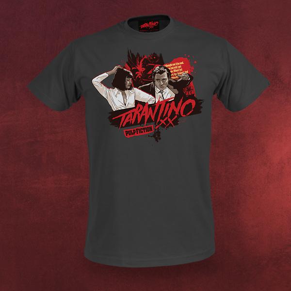 Pulp Fiction T-Shirt - Vincent & Mia - Tarantino XX