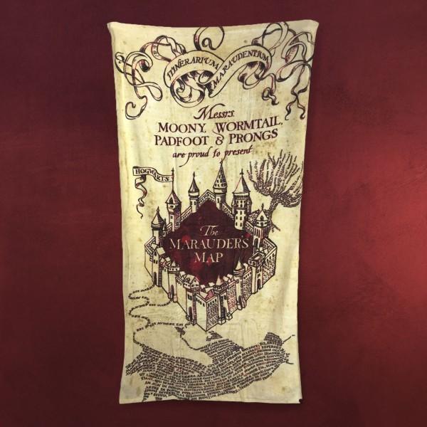 Harry Potter - Karte des Rumtreibers Badetuch
