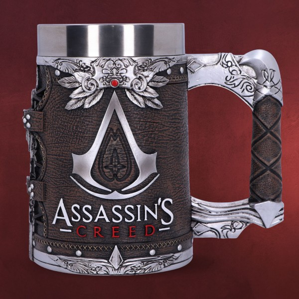 Assassin's Creed - Logo Krug deluxe braun