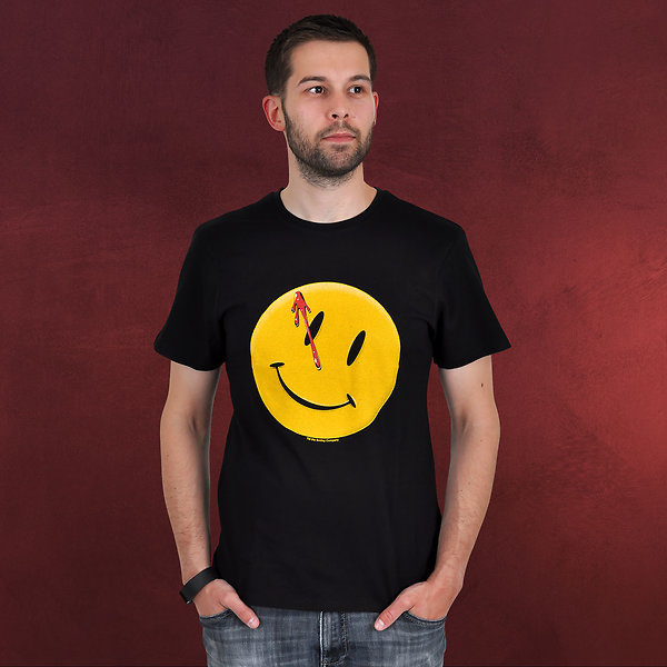 Watchmen - Smiley T-Shirt schwarz