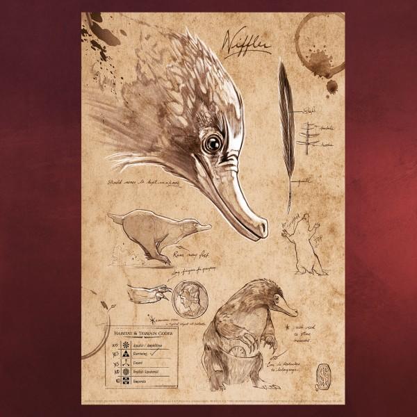 Niffler Puzzle - Phantastische Tierwesen