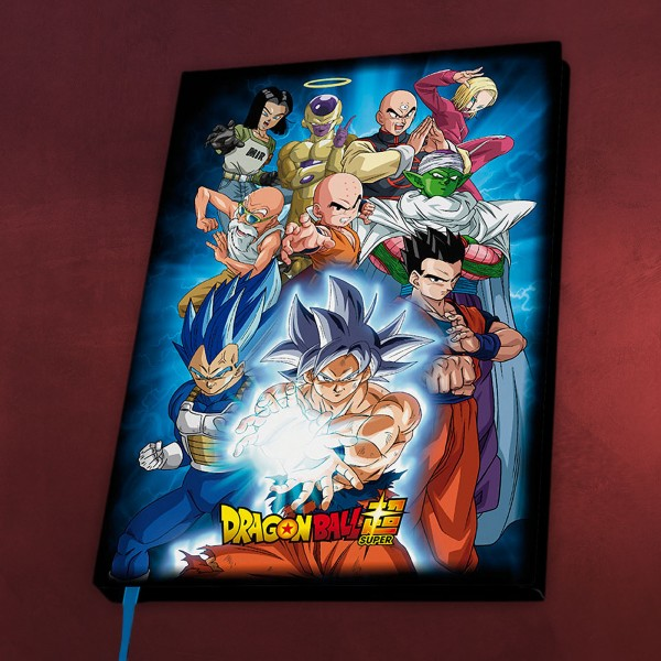 Dragon Ball - Universe 7 Notizbuch A5