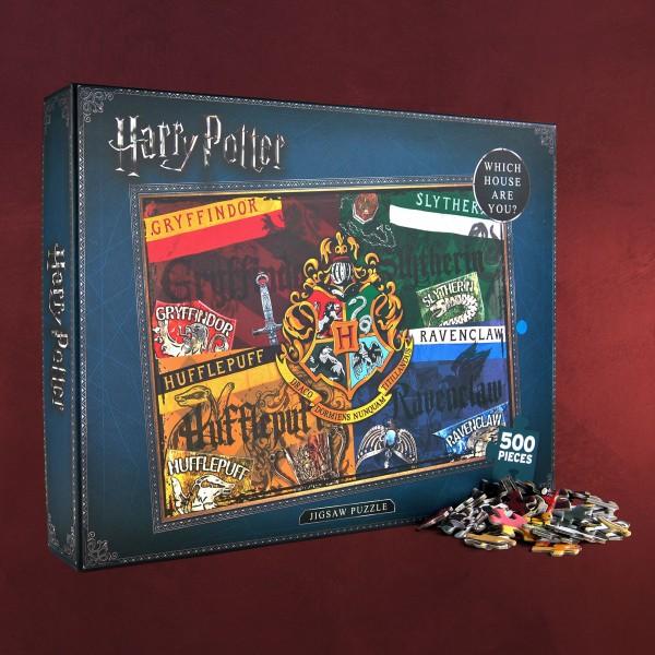 Harry Potter - Wappen Puzzle
