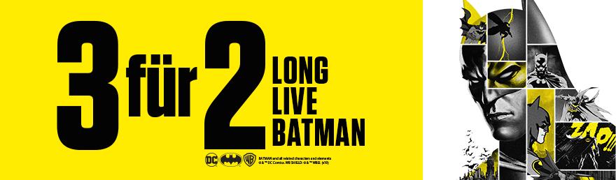 Batman Weeks - 3 für 2 Aktion