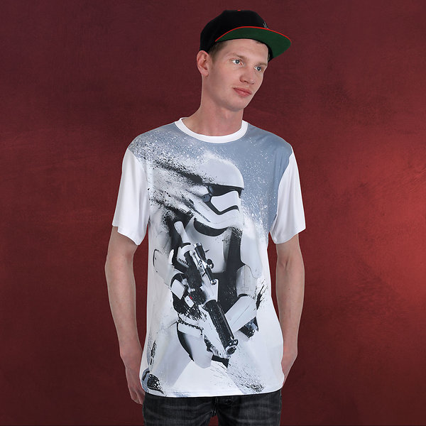 Star Wars - Stormtrooper Splatter Fullsize T-Shirt