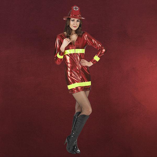 Feuerwehr Lady Kostüm