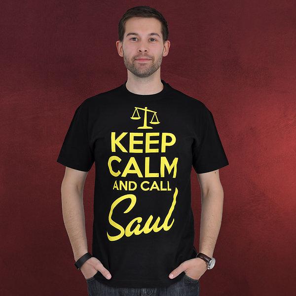 Call Saul - T-Shirt schwarz