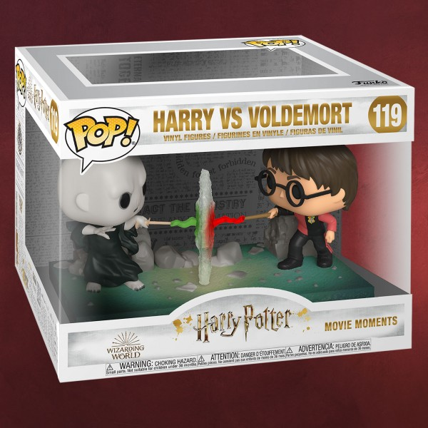 Harry Potter - Harry vs. Voldemort Funko Pop Figuren-Set