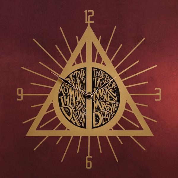 Harry Potter - Heiligtümer des Todes Wanduhr