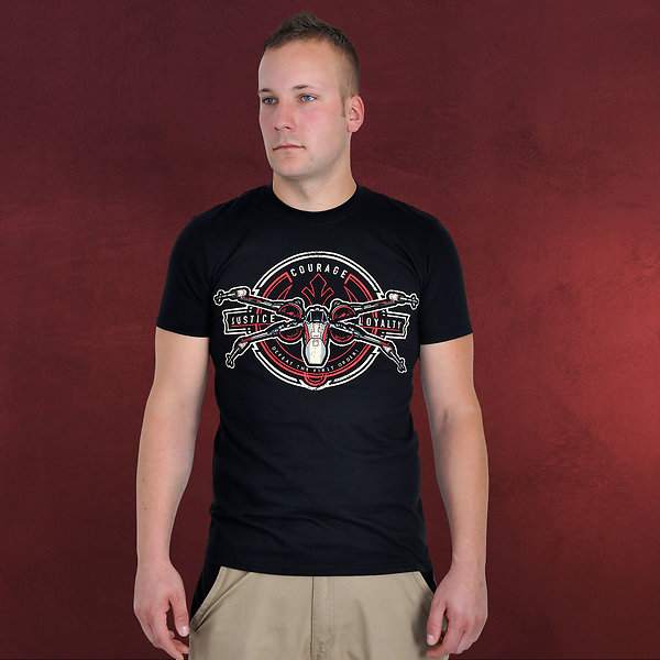 Star Wars - X-Wing Crest T-Shirt schwarz