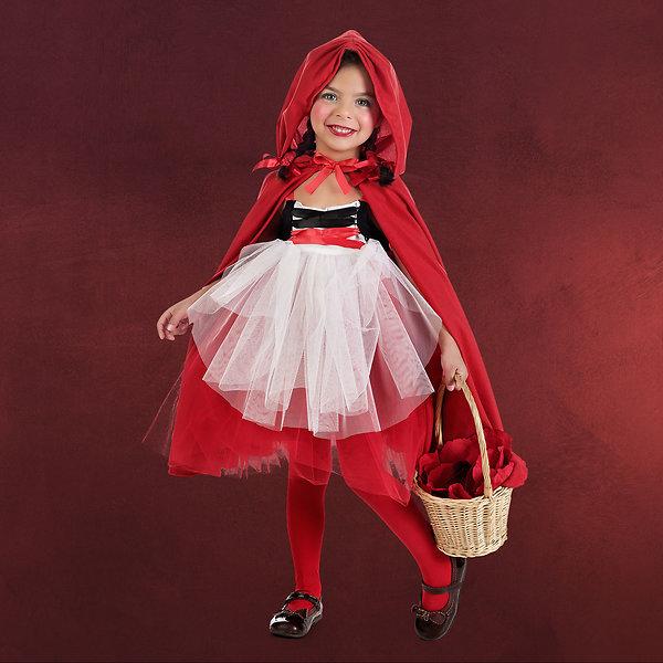 Rotkäppchen Ballerina - Kinderkostüm