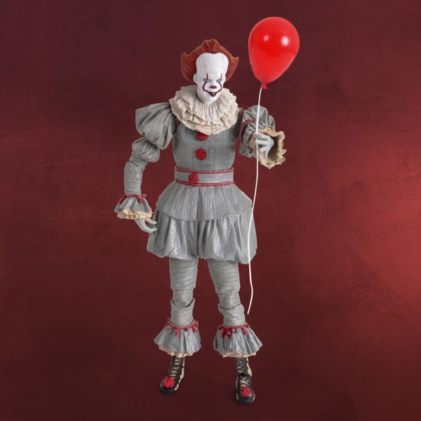 Stephen Kings ES - Pennywise Ultimate Actionfigur 18 cm