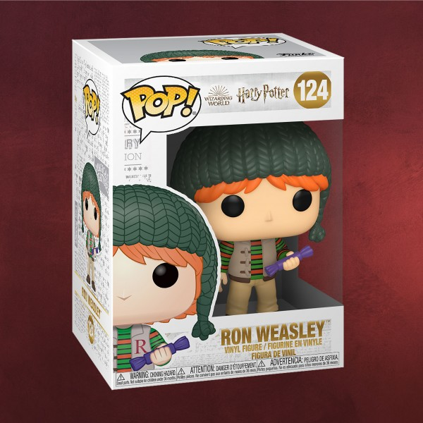 Harry Potter - Ron Holiday Funko Pop Figur