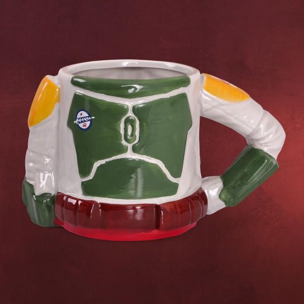 Star Wars - Boba Fett 3D Tasse