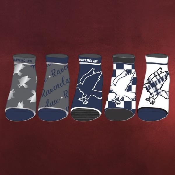 Harry Potter - Ravenclaw Socken 5er Set
