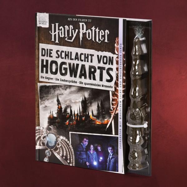 Harry Potter - Die Schlacht von Hogwarts mit Zauberstab