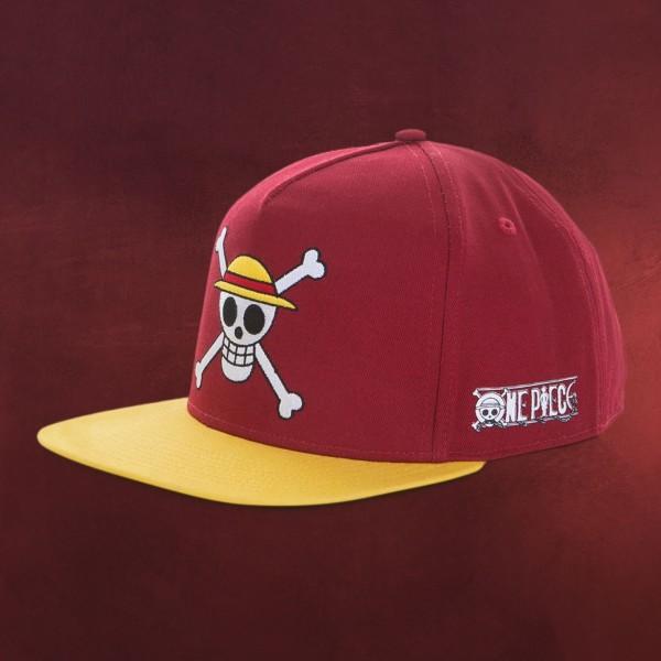 One Piece - Strohhutbande Logo Snapback Cap