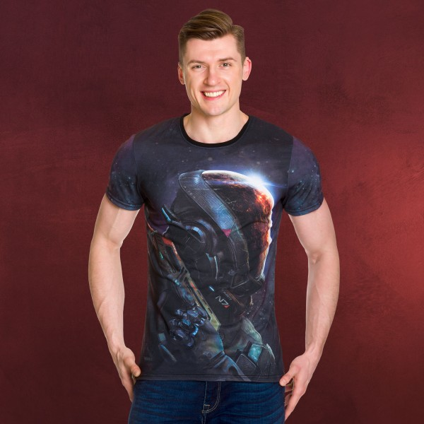 Mass Effect - Explorer Full Size T-Shirt