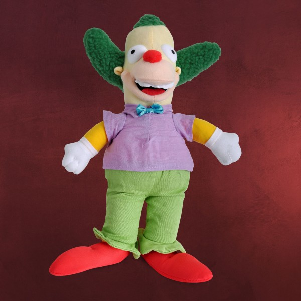 Simpsons - Krusty der Clown Plüschfigur 31 cm