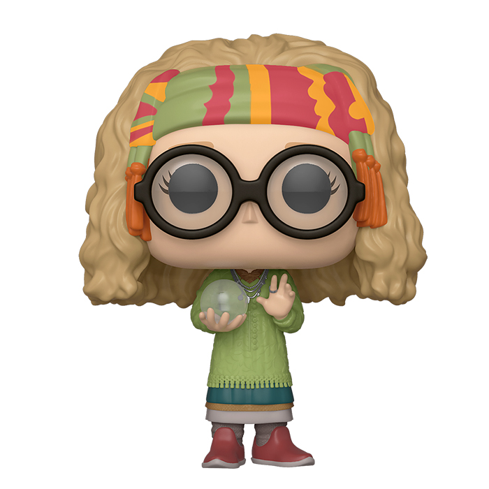 Harry Potter - Professor Trelawney mit Kristallkugel Funko Pop Figur