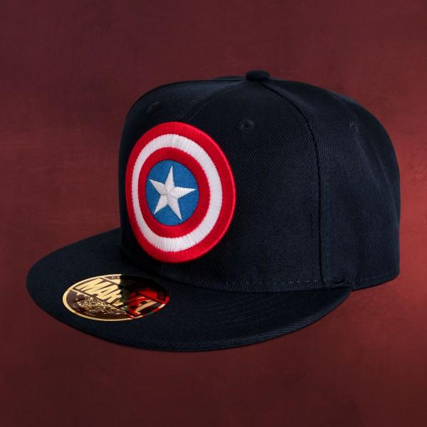 Captain America - Logo Snapback Cap blau