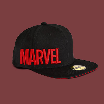 Marvel - Hero Icons Snapback Cap schwarz