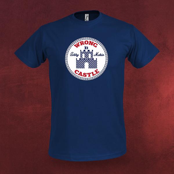 Wrong Castle Mario T-Shirt