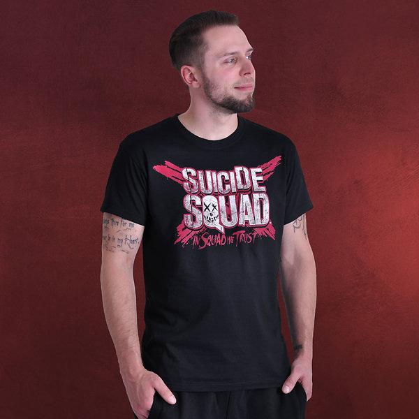 Suicide Squad - Logo T-Shirt schwarz